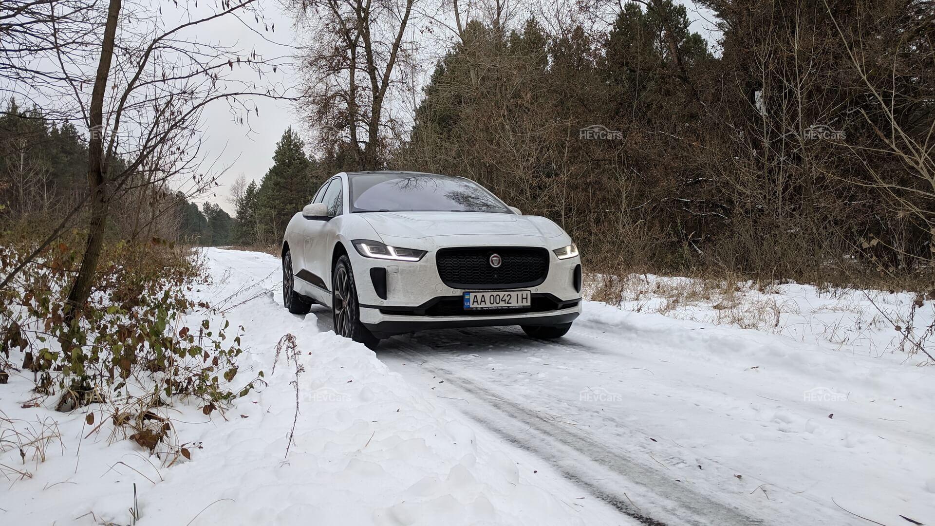 Электрический кроссовер Jaguar I-Pace - фото 5