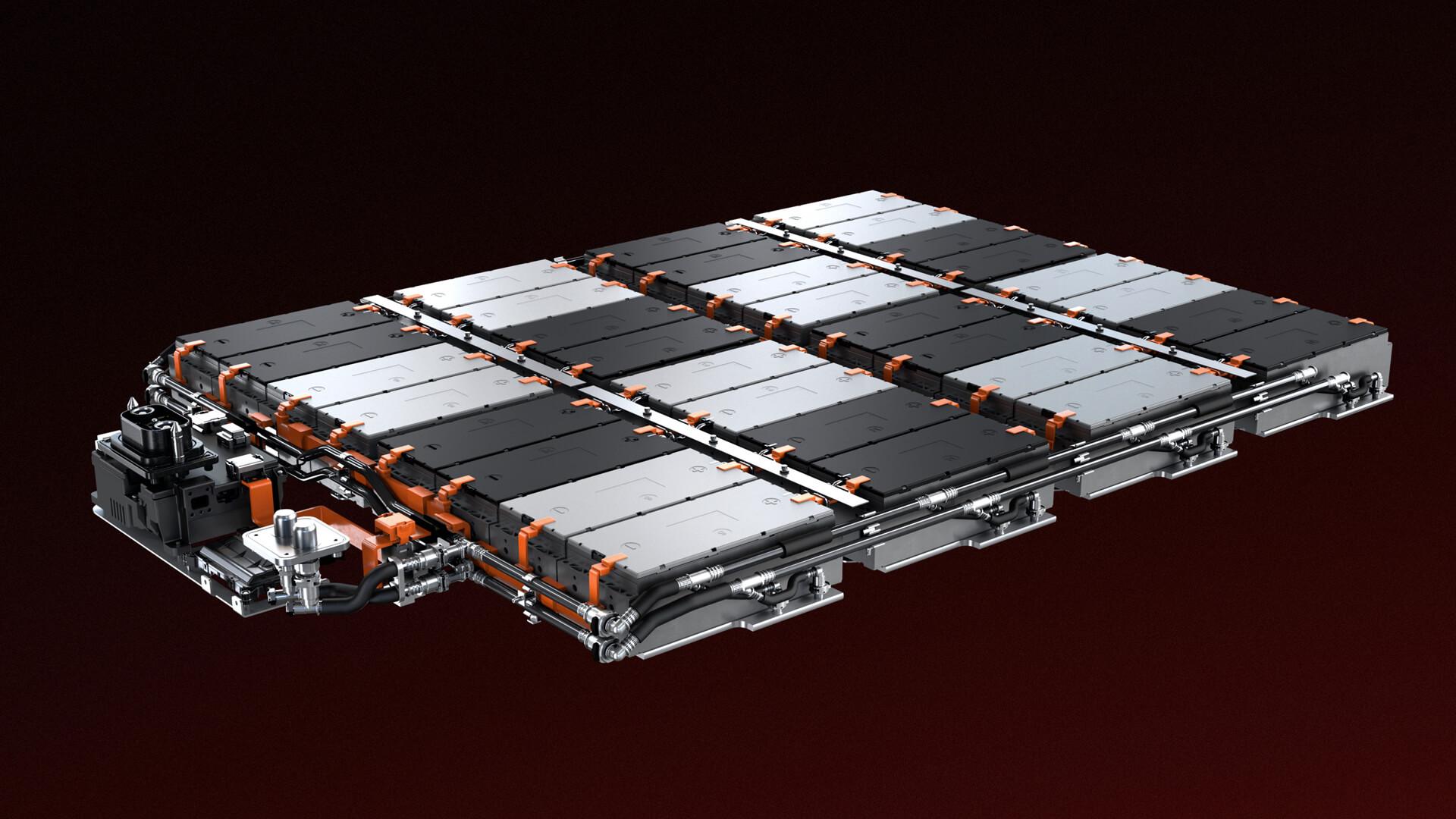 Аккумуляторная батарея электрокроссовера ES6