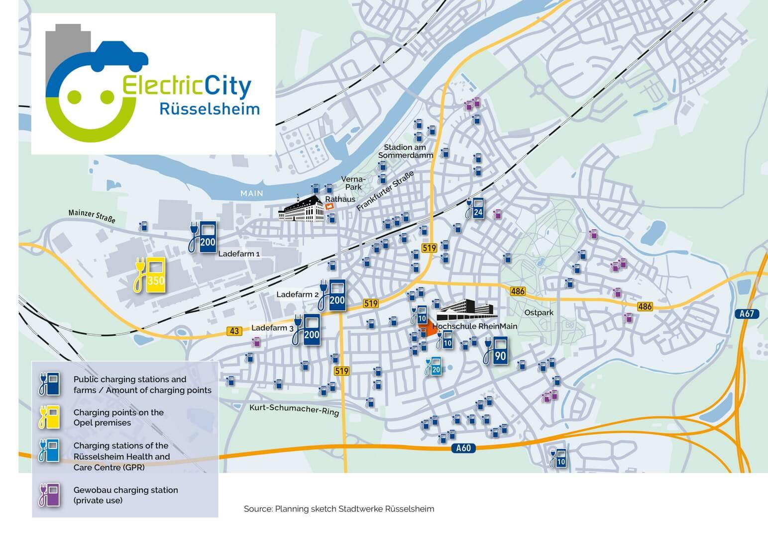 Родной город Opel станет «электрическим городом»