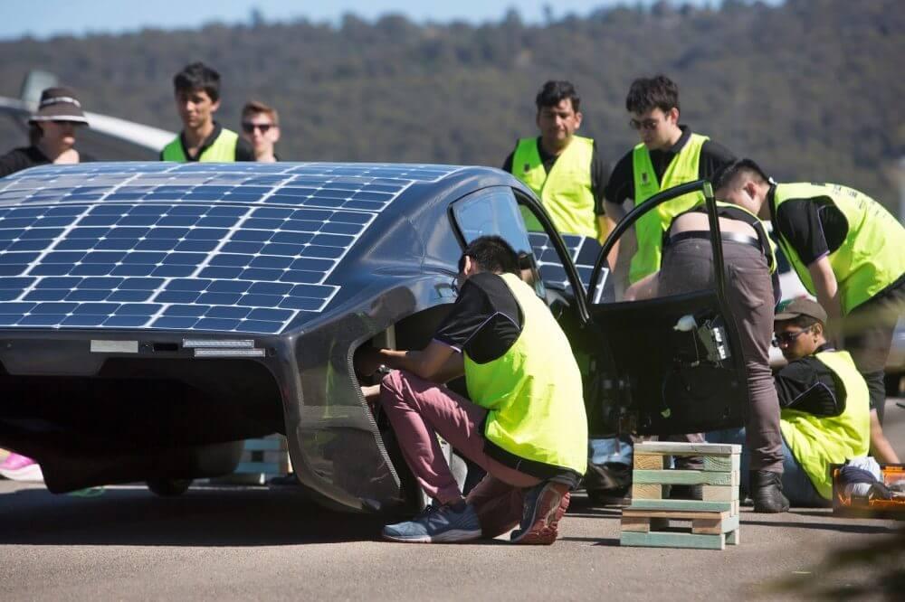 Рекорд эффективности расхода энергии автомобилем Violet