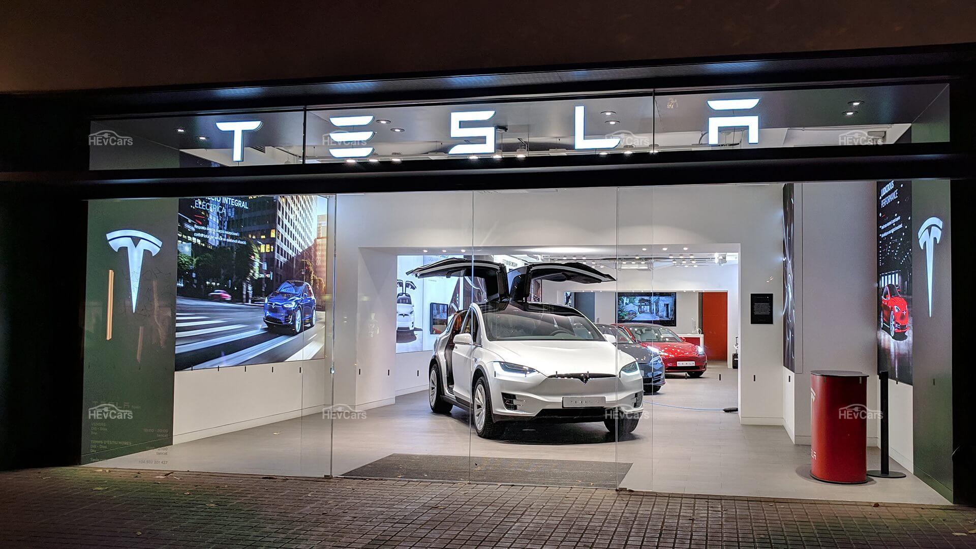 Модельный ряд электромобилей Tesla на сегодняшний: Model X, Model S, Model 3