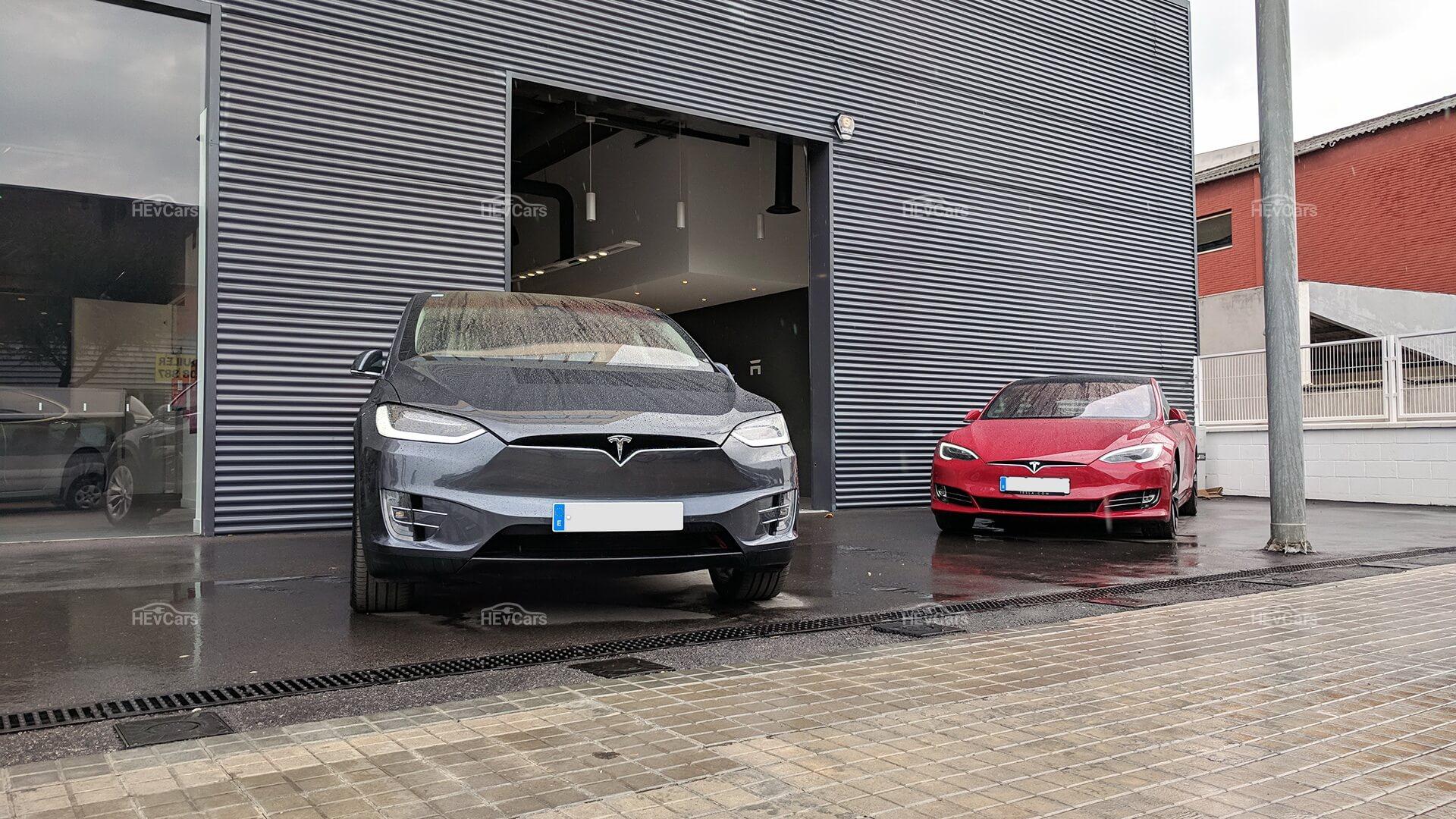 Tesla ModelX и Model S