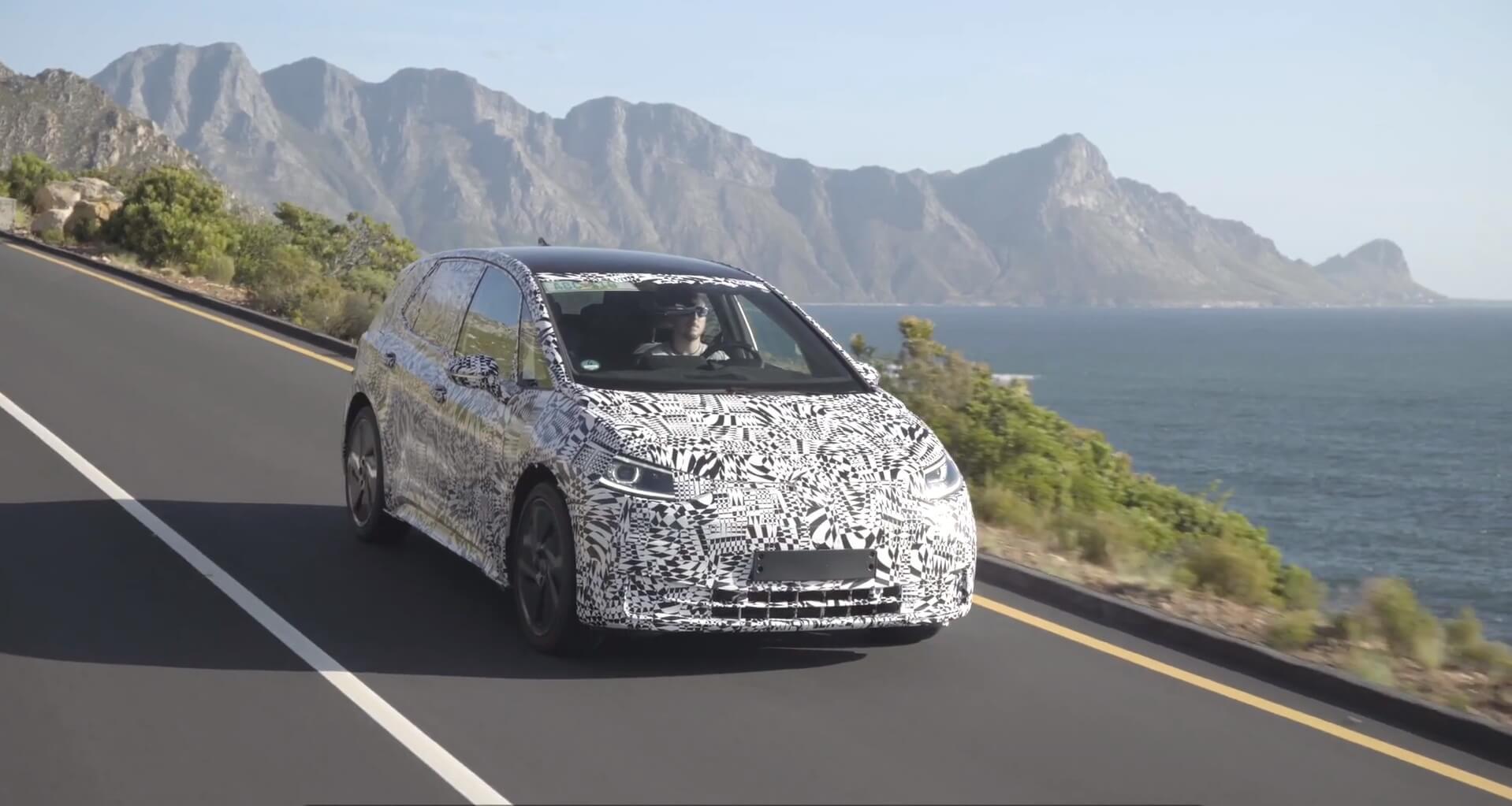 VW тестирует электрокар серии ID