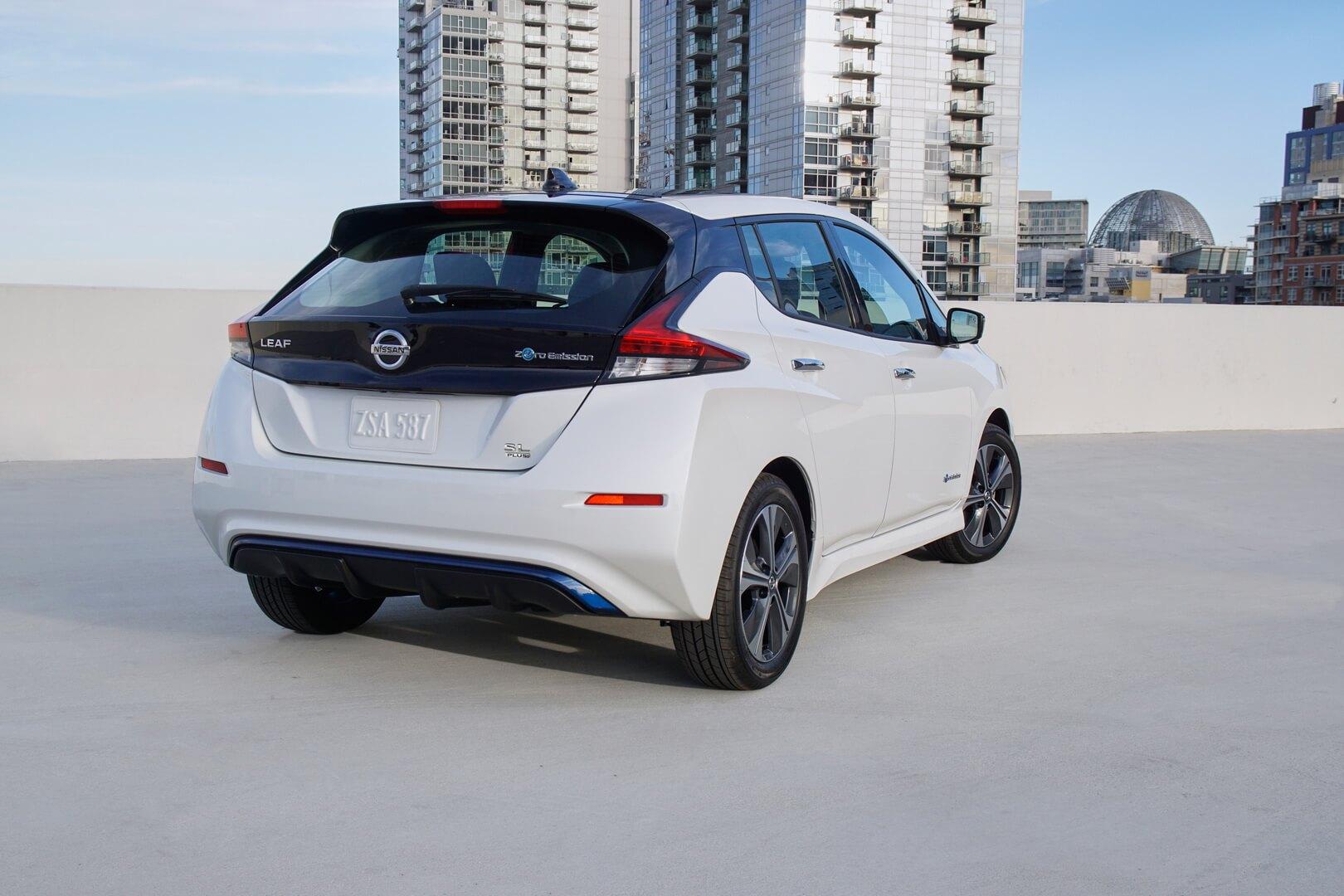 Фотография экоавто Nissan Leaf e+ 2019 (62 кВт•ч) - фото 10