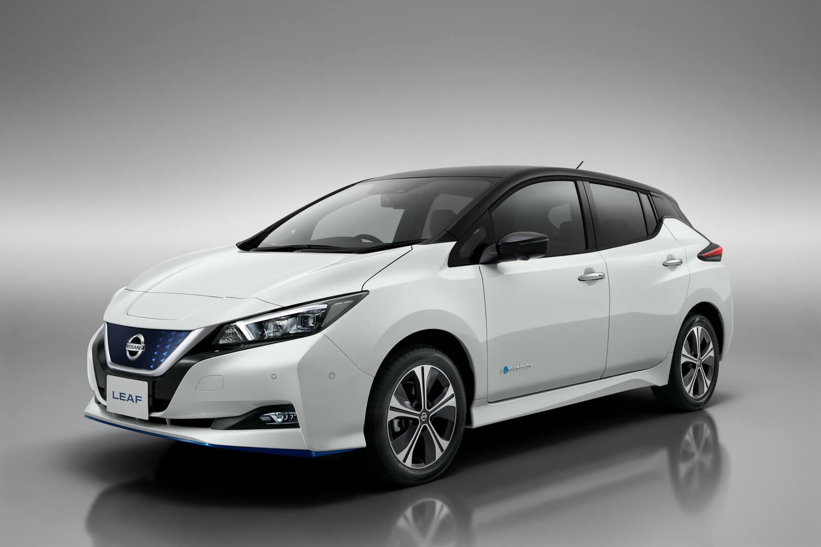 Фотография экоавто Nissan Leaf e+ 2019 (62 кВт•ч)
