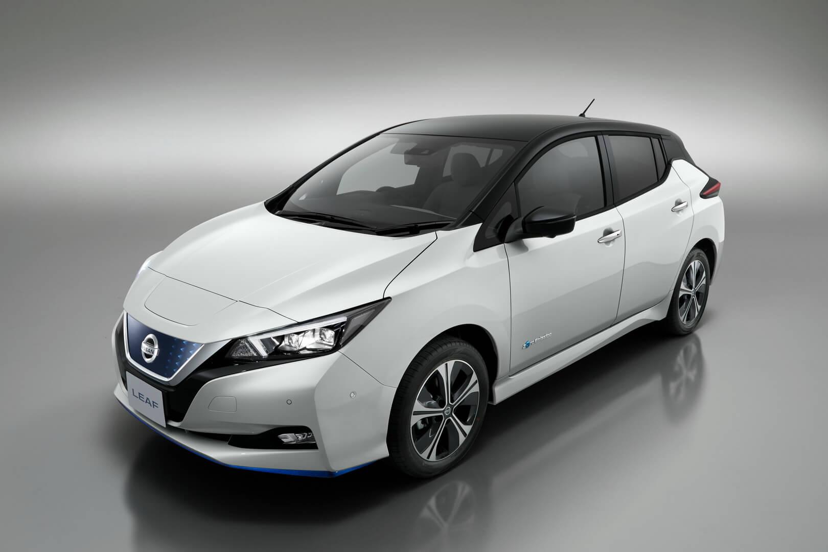 Фотография экоавто Nissan Leaf e+ 2019 (62 кВт•ч) - фото 8