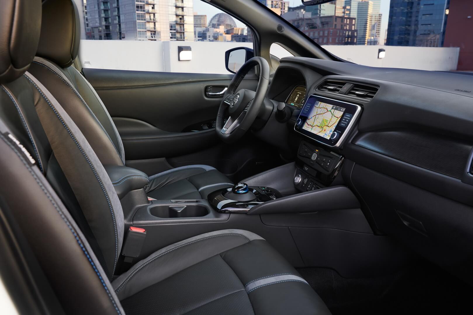 Фотография экоавто Nissan Leaf e+ 2019 (62 кВт•ч) - фото 22
