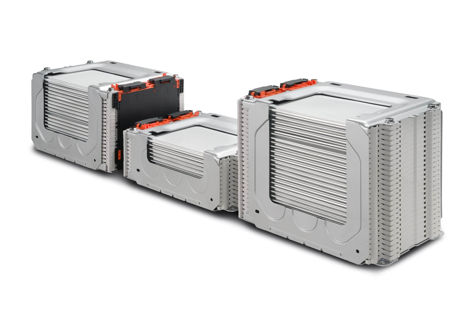 Расположение модулей батареи Nissan Leaf e+ на 62 кВт⋅ч - вид 3