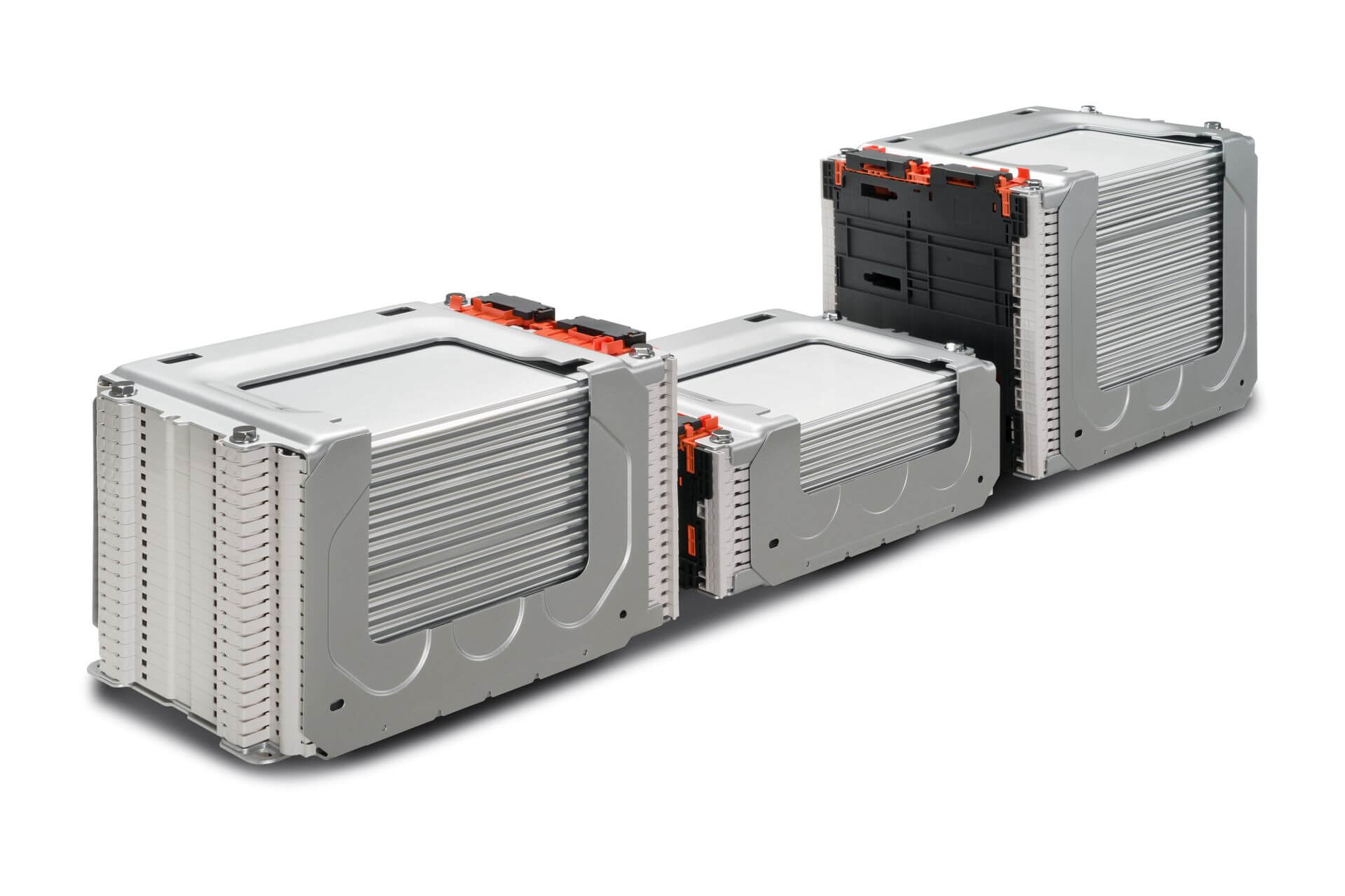 Расположение модулей батареи Nissan Leaf e+ на 62 кВт⋅ч - вид 2