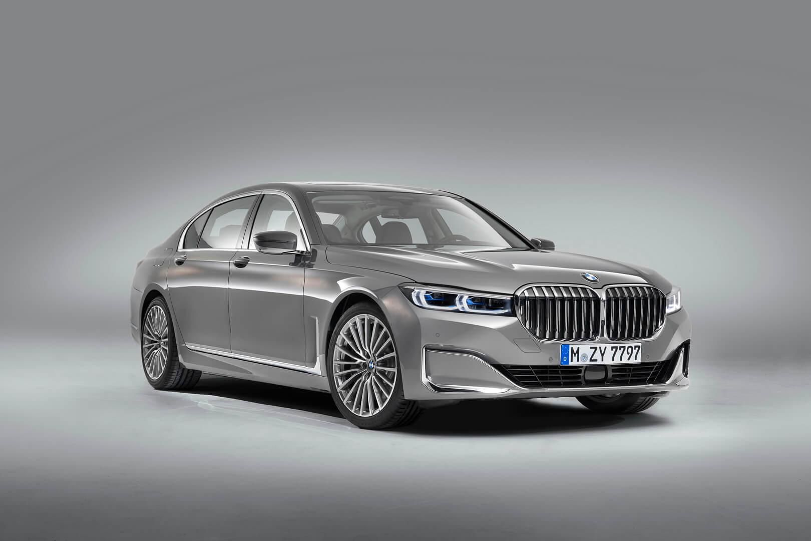 Обновленный плагин-гибрид BMW 745e 2019 года