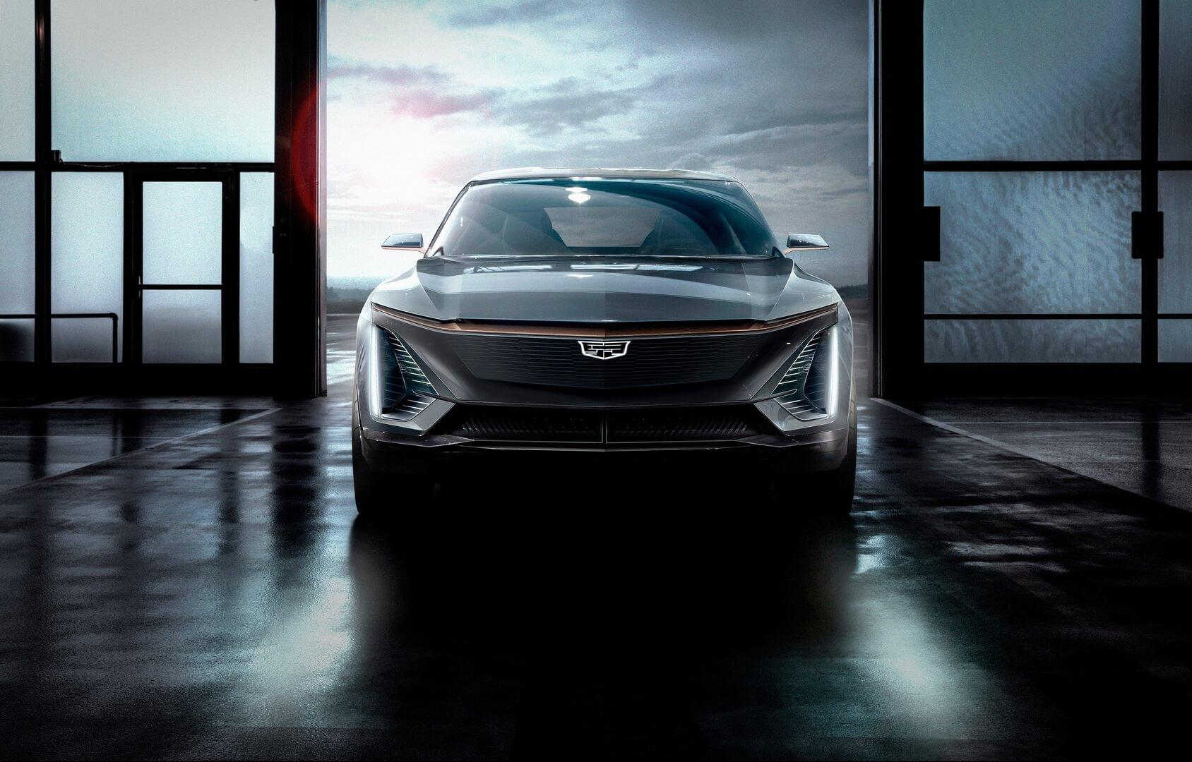 Концепт электрического кроссовера от Cadillac