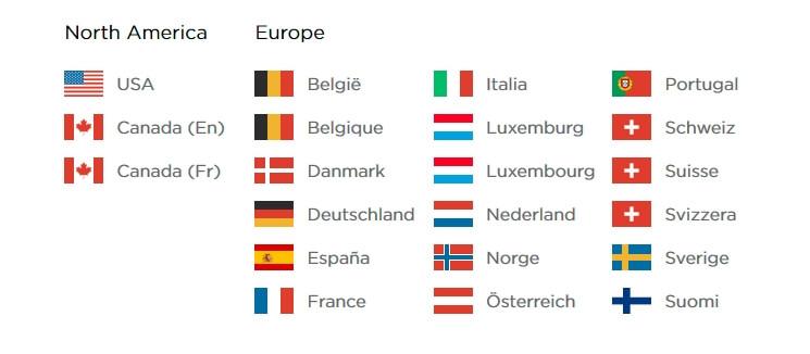 Страны Европы, где доступна для резервирования Tesla Model 3