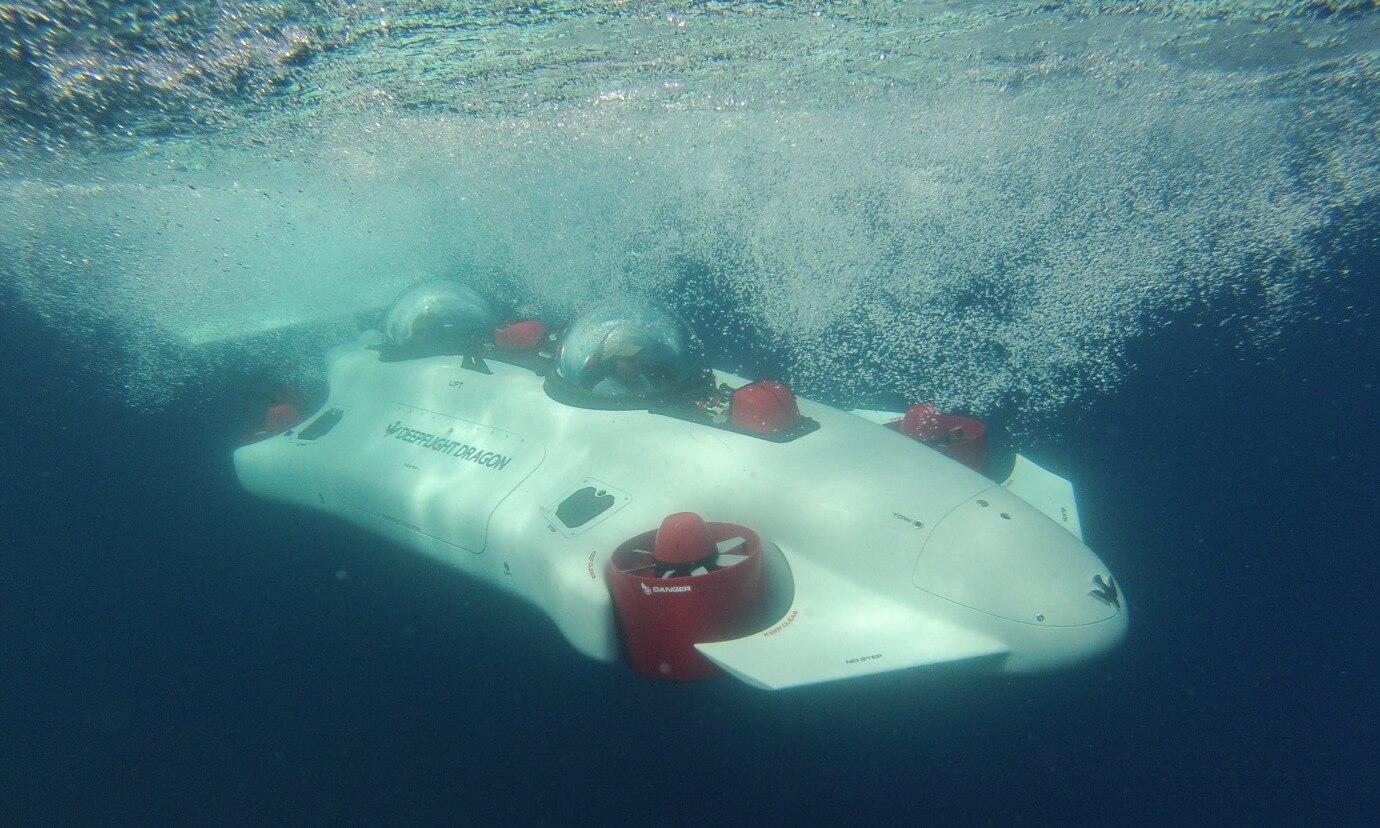 Электрическая субмарина DeepFlightDragon