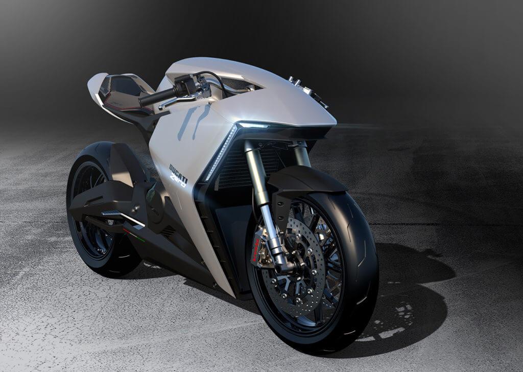 Концепт электрического мотоцикла Ducati Zero