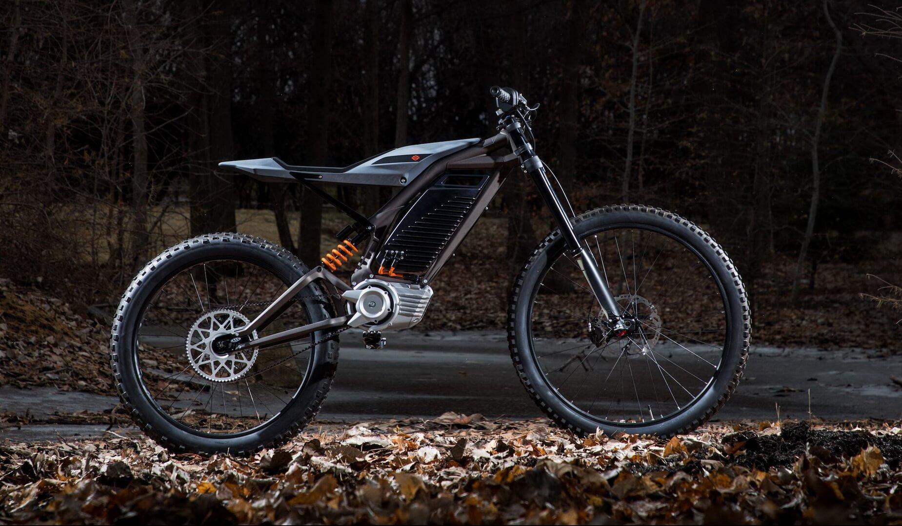 HDElectric Concept1 (гоночный мотоцикл)