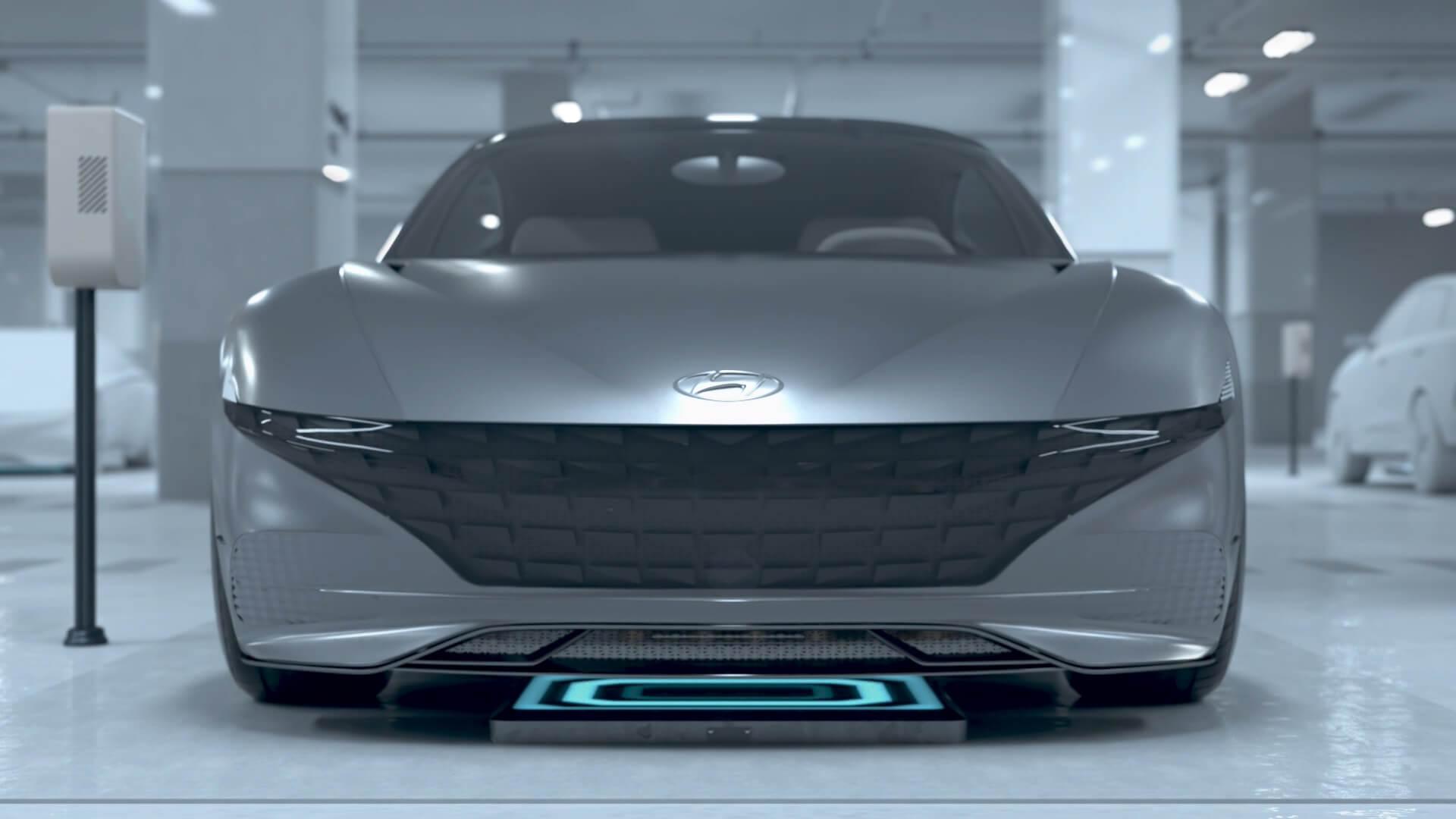 Беспроводная зарядка электромобилей