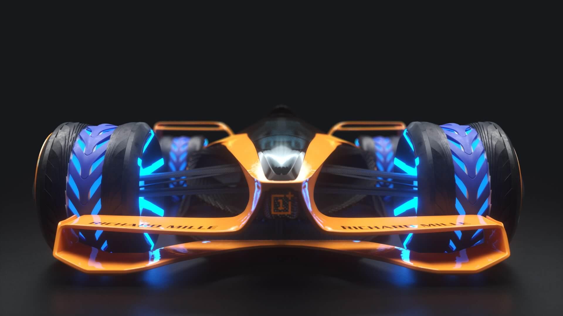 McLaren представил, каким будет болид Formula 1 в 2050 году