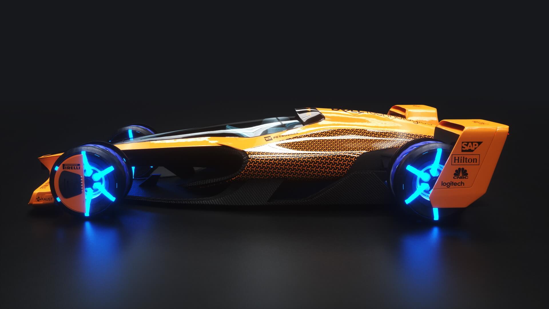 McLaren F1 в 2050 году