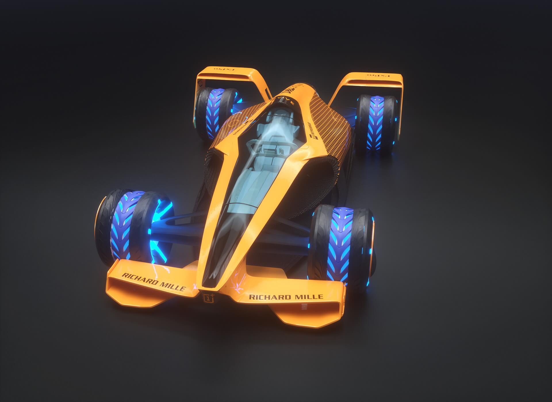 McLaren видит будущее Formula 1 только на электрических болидах