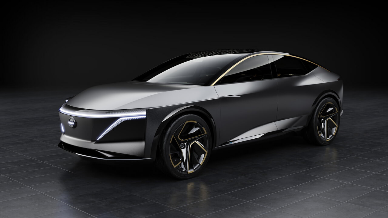 Электромобиль Nissan IMs - вид 3