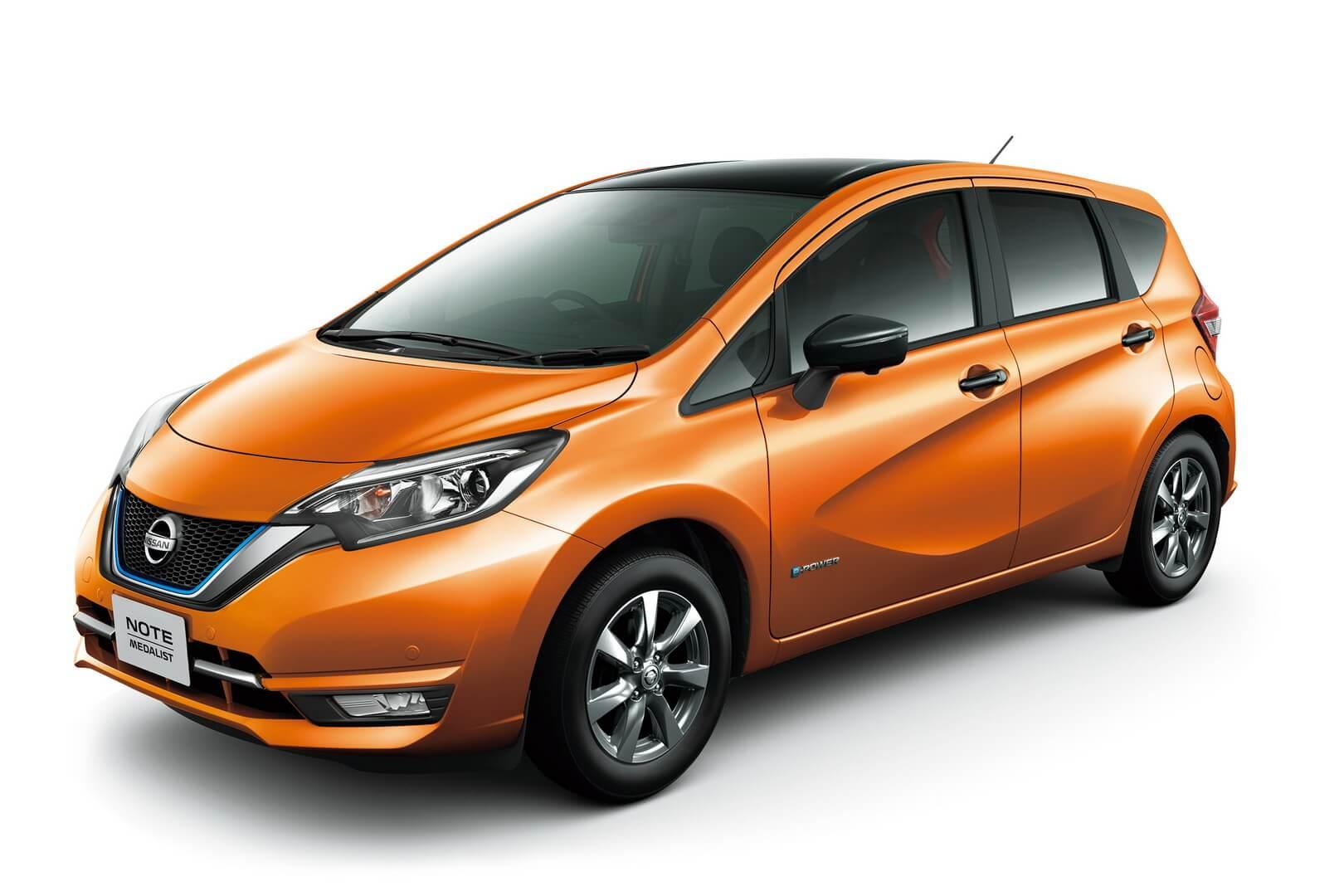 Гибрид Nissan NOTE с технологией e-POWER