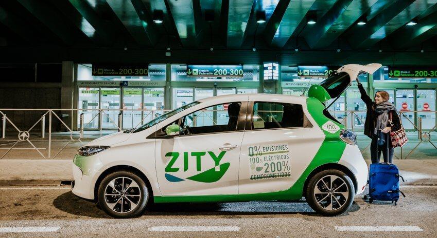 Каршеринг электромобилей на Renault ZOE вМадриде пользуется огромным спросом