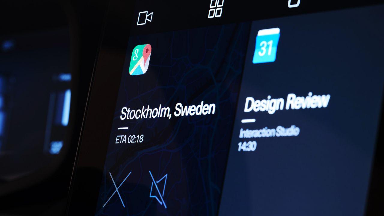Polestar показал систему управления будущего электромобиля набазе Android