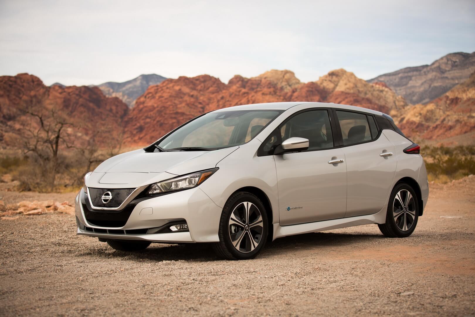 Nissan Leaf — самый продаваемый электромобиль в Европе в 2018 году