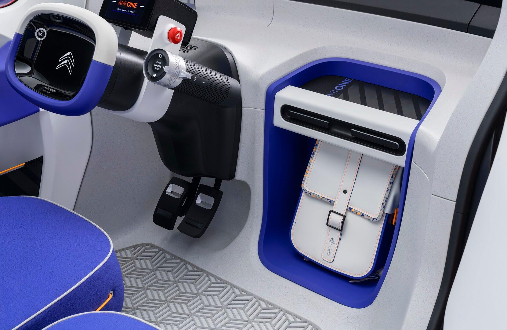 Интерьер электромобиля Citroën Ami One