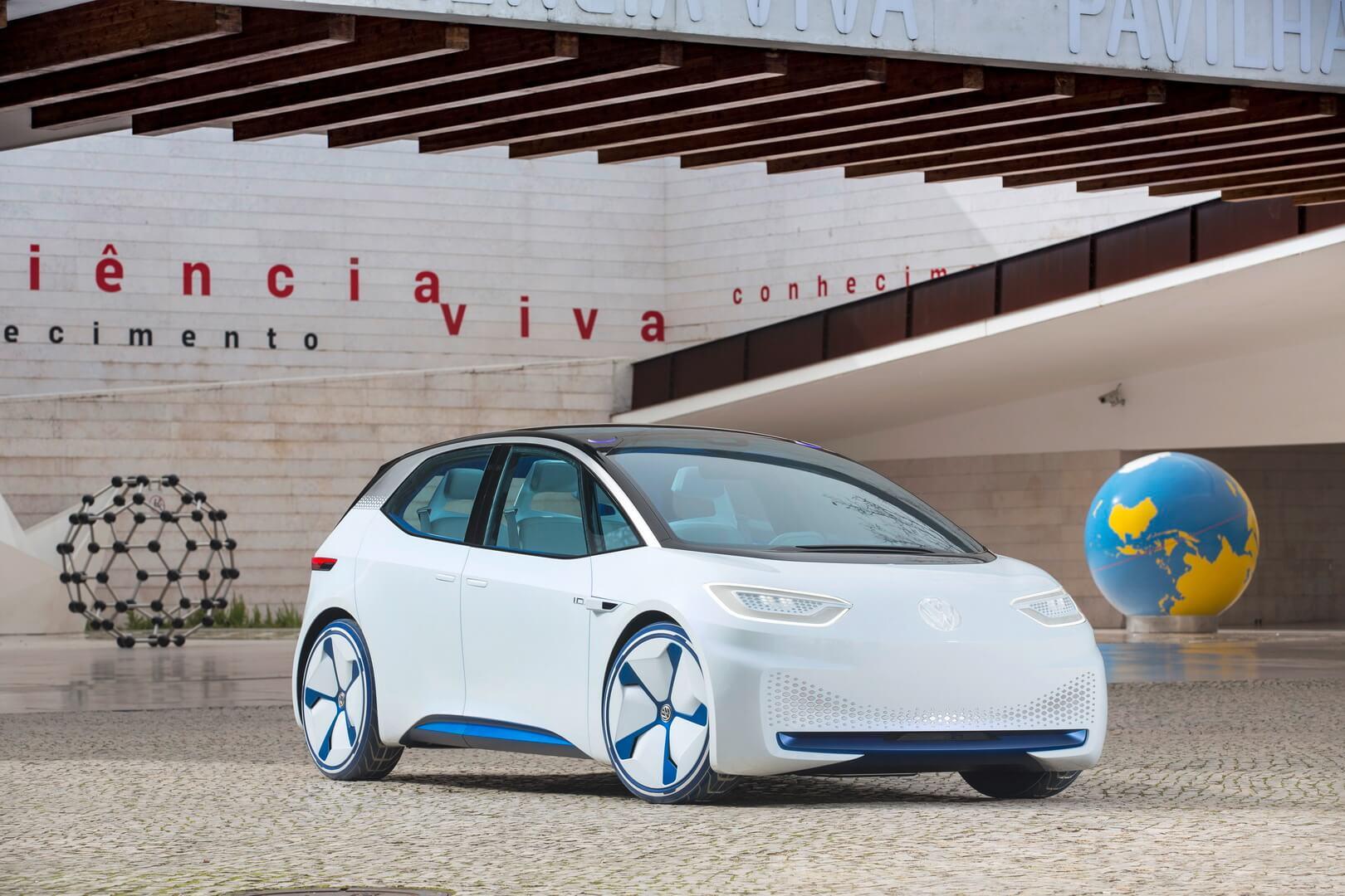 Серийным названием электромобиля Volkswagen I.D. будет ID.3