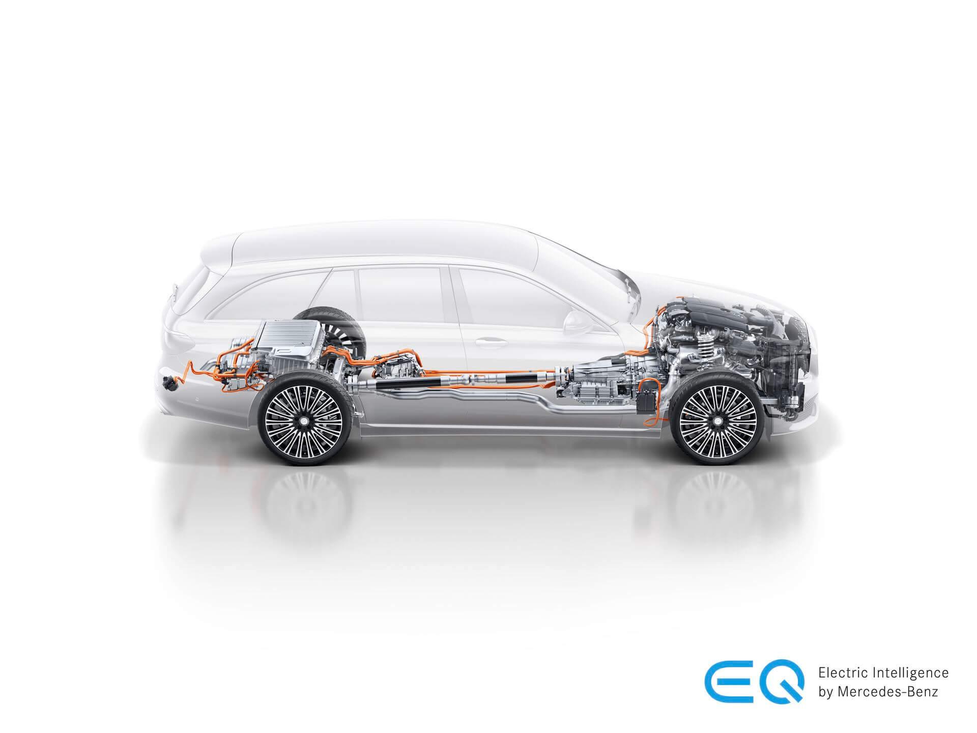 Cиловая установка Mercedes-Benz E300e PHEV
