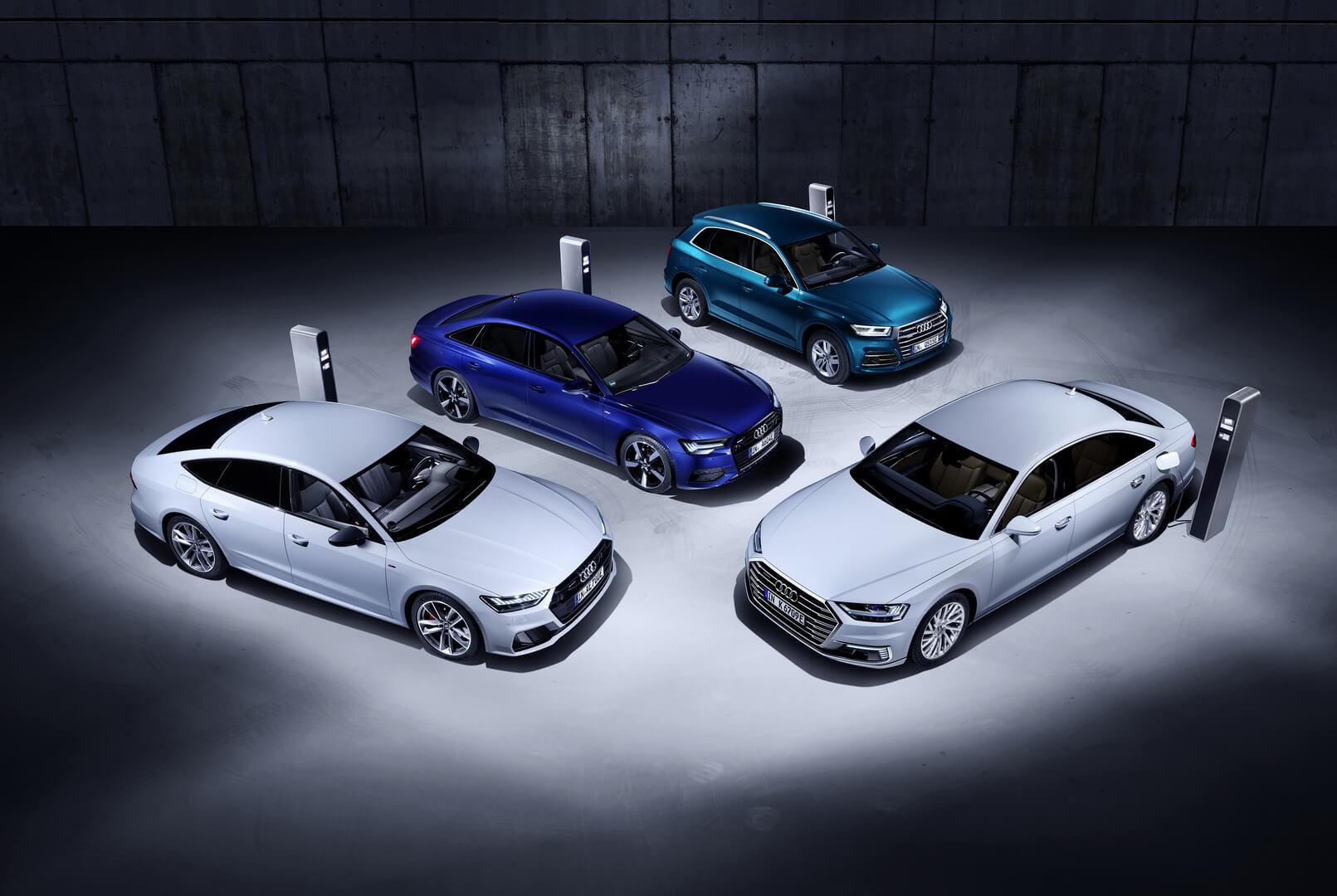 Семейство плагин-гибридных автомобилей Audi