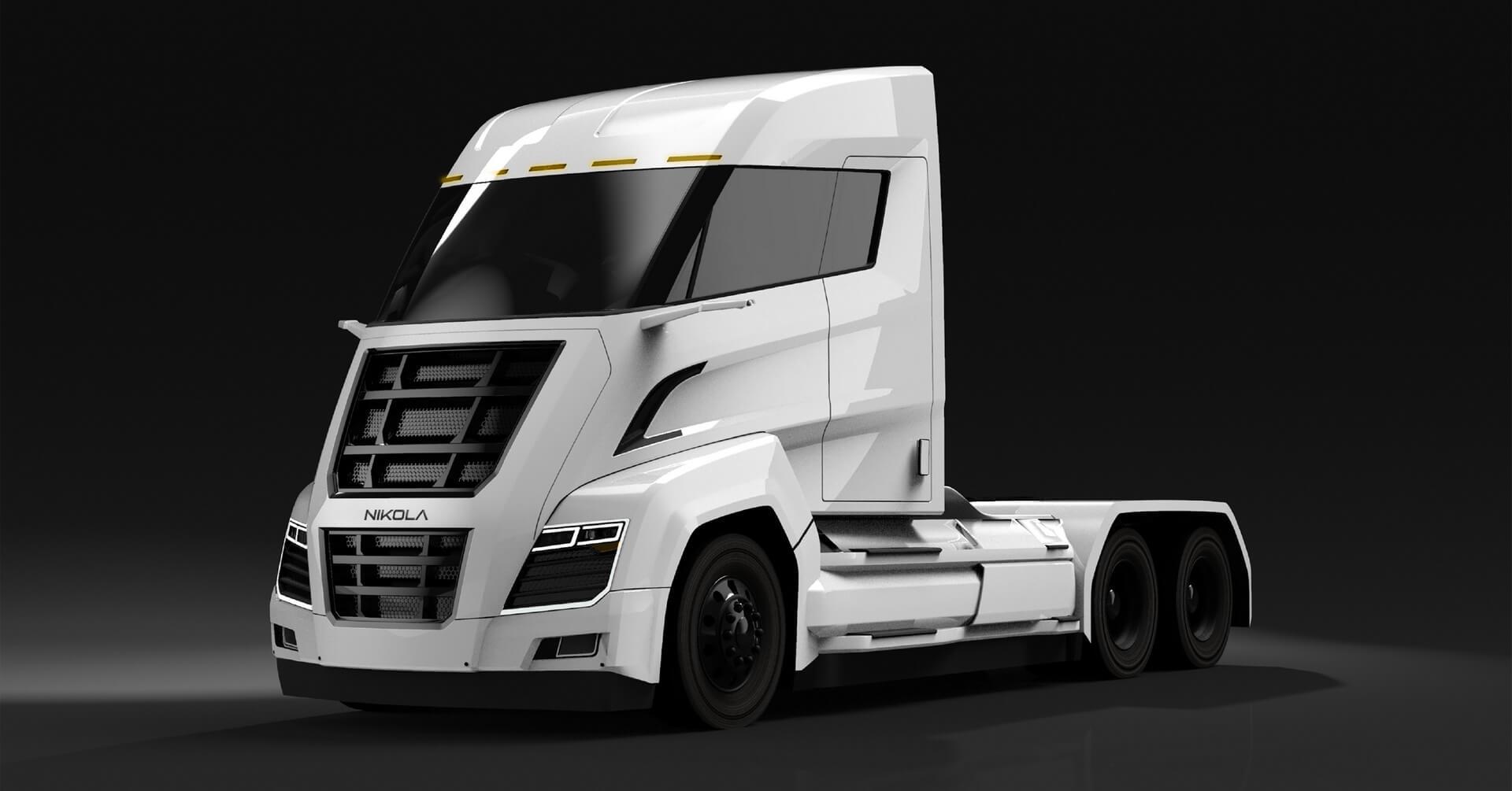 Nikola Two:грузовик на топливных элементах для США