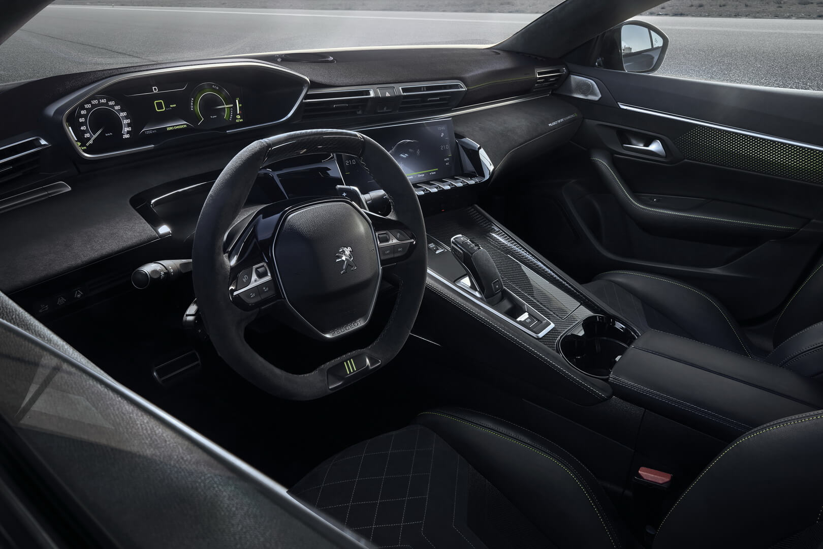 Салон Peugeot 508 Sport Engineered PHEV