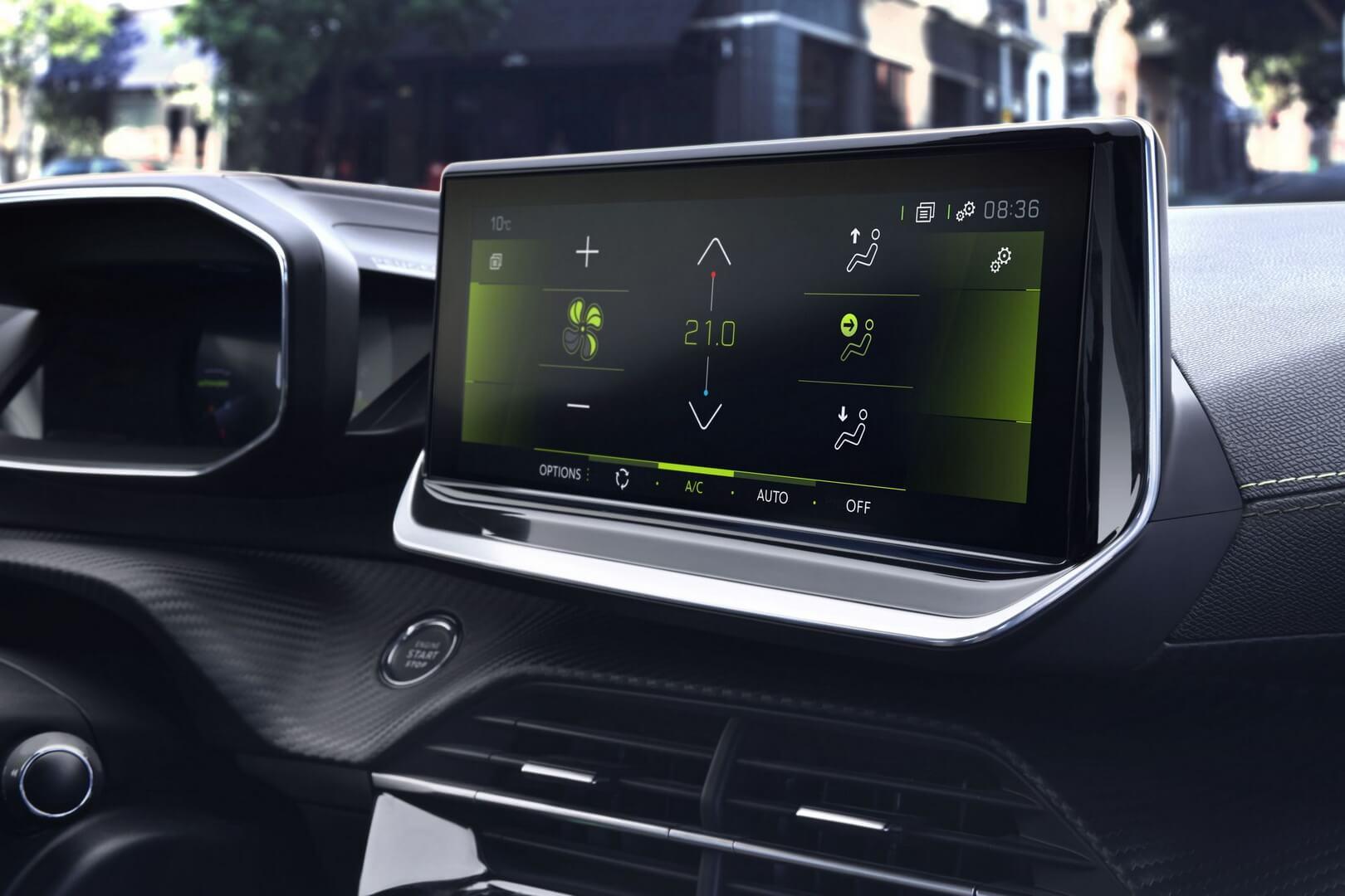Мультимедийная система Peugeot e-208