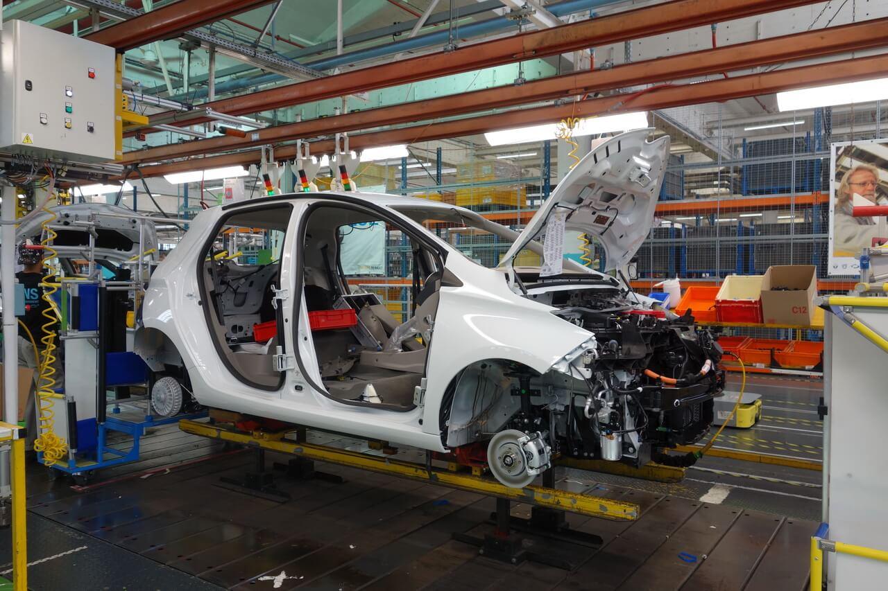 Производство нового ZOE начинается во 2-м квартале 2019 года на заводе Flins