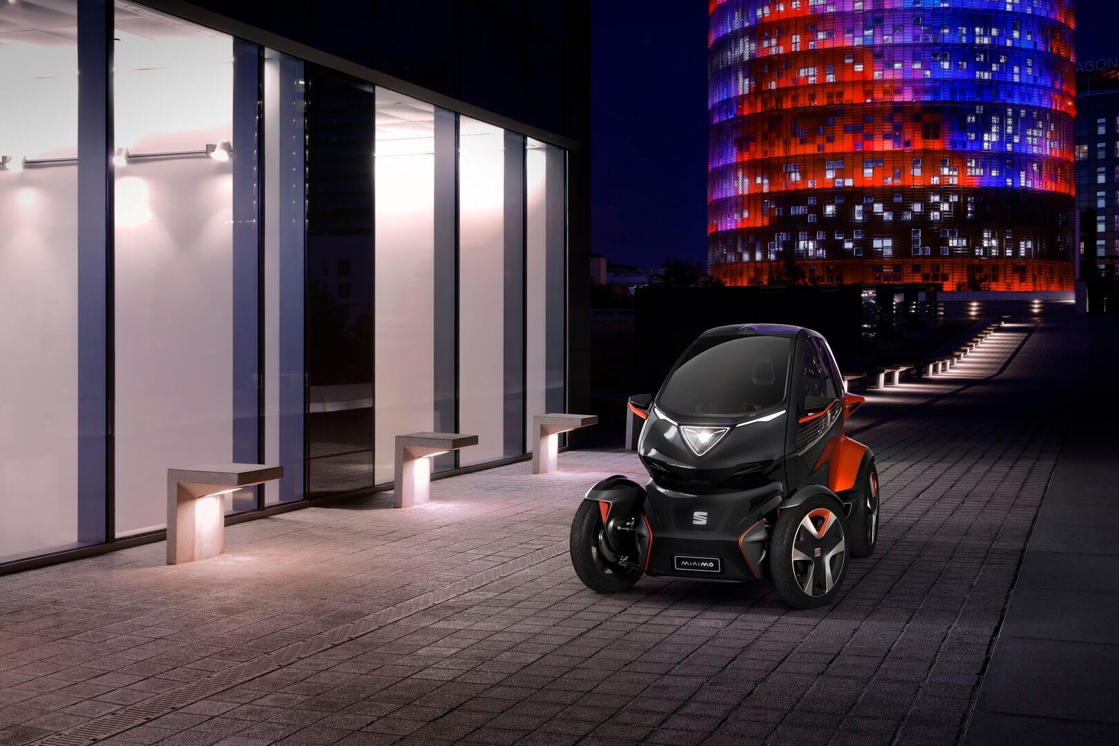 Электромобиль SEAT Minimó
