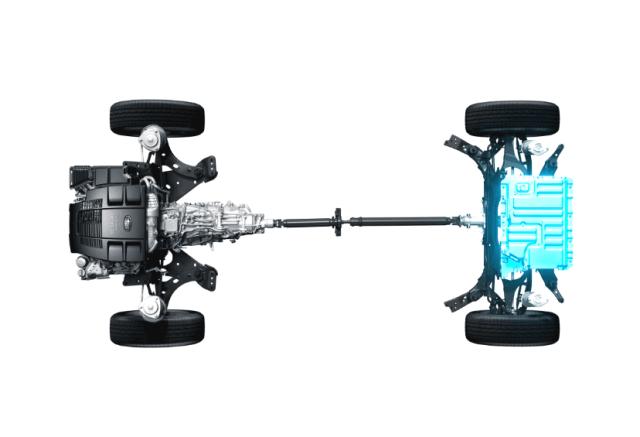 Гибридная трансмиссия Subaru под названием «e-Boxer»