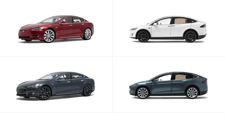 Электромобили Model S& X вмасштабе 1:18 за $250
