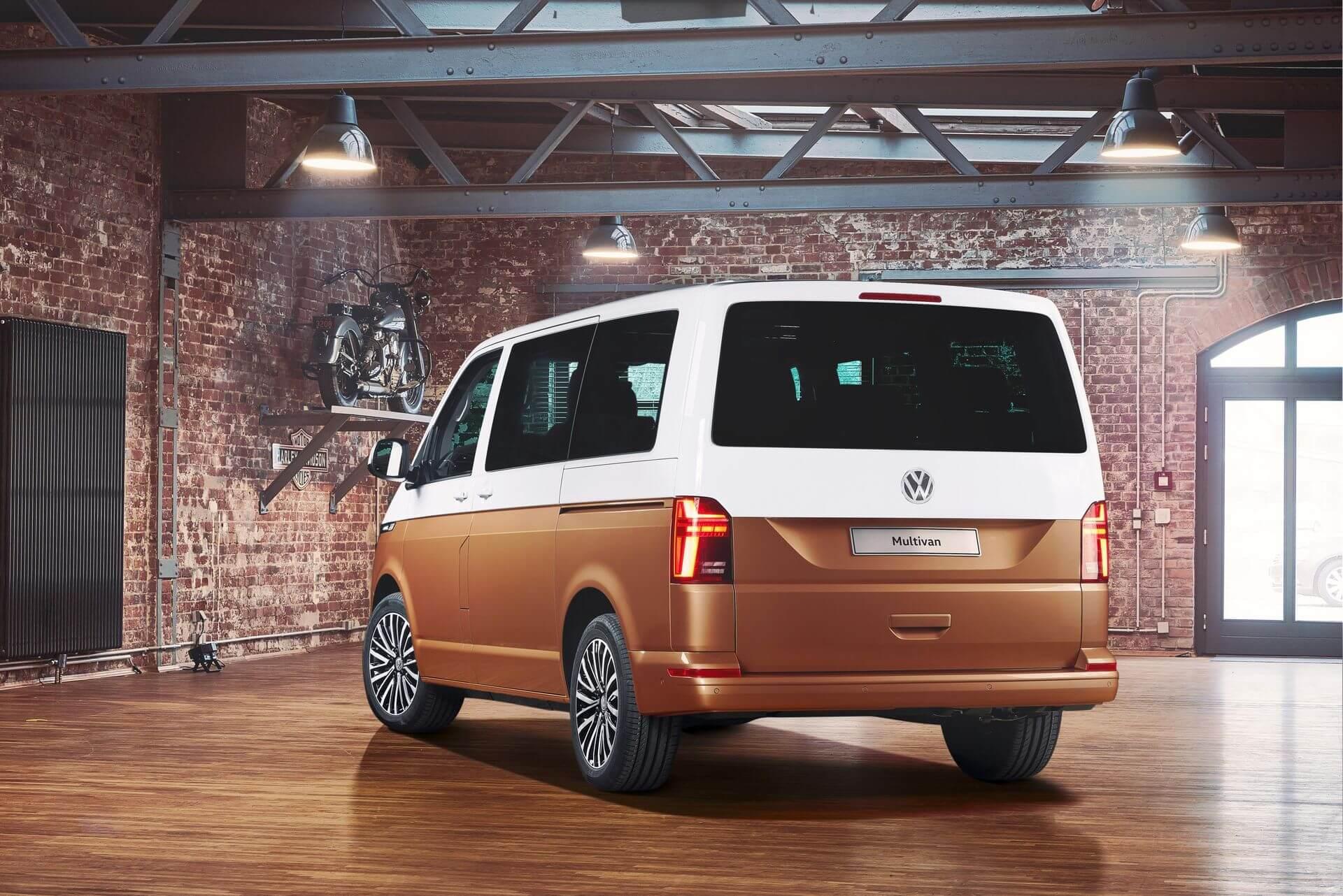 Электрическая версия фургона Volkswagen Multivan Т6.1 (Bulli)