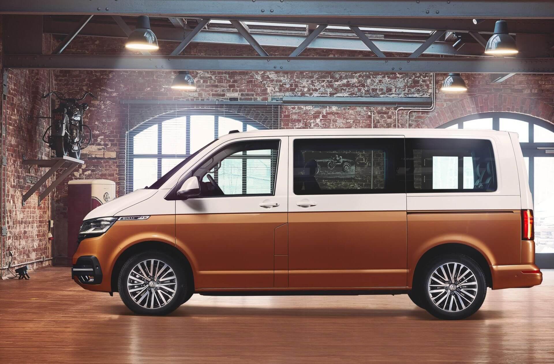 Электрическая версия Volkswagen Multivan Т6.1 (Bulli)