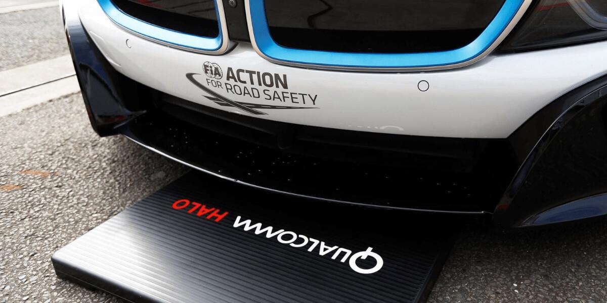 Технология Qualcomm Halo для беспроводной зарядки электромобилей