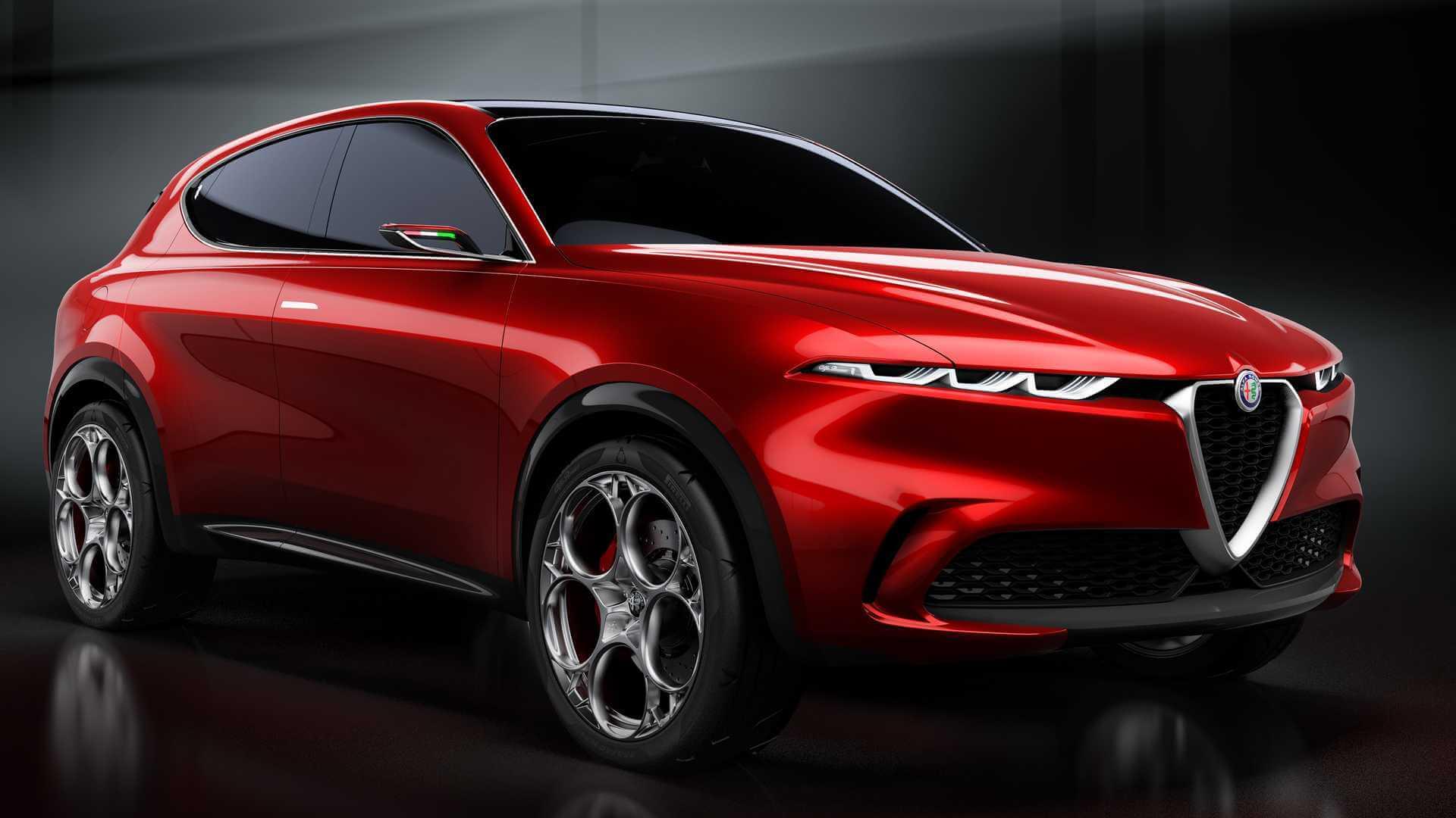 Alfa Romeo представляет компактный кроссовер Tonale PHEV