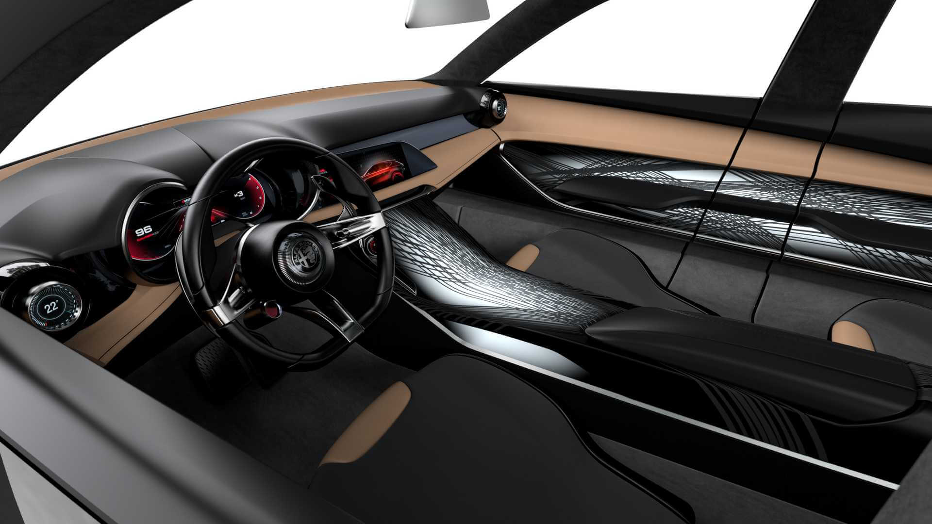 Салон Alfa Romeo Tonale PHEV