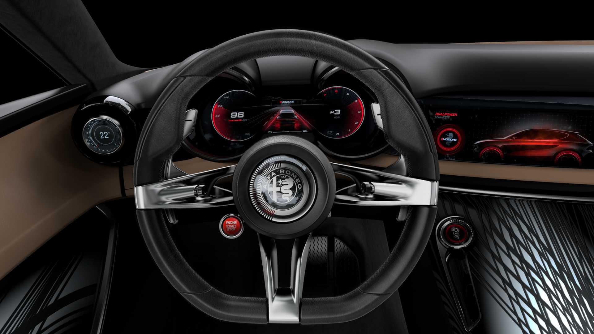 Рулевое колесо Alfa Romeo Tonale PHEV