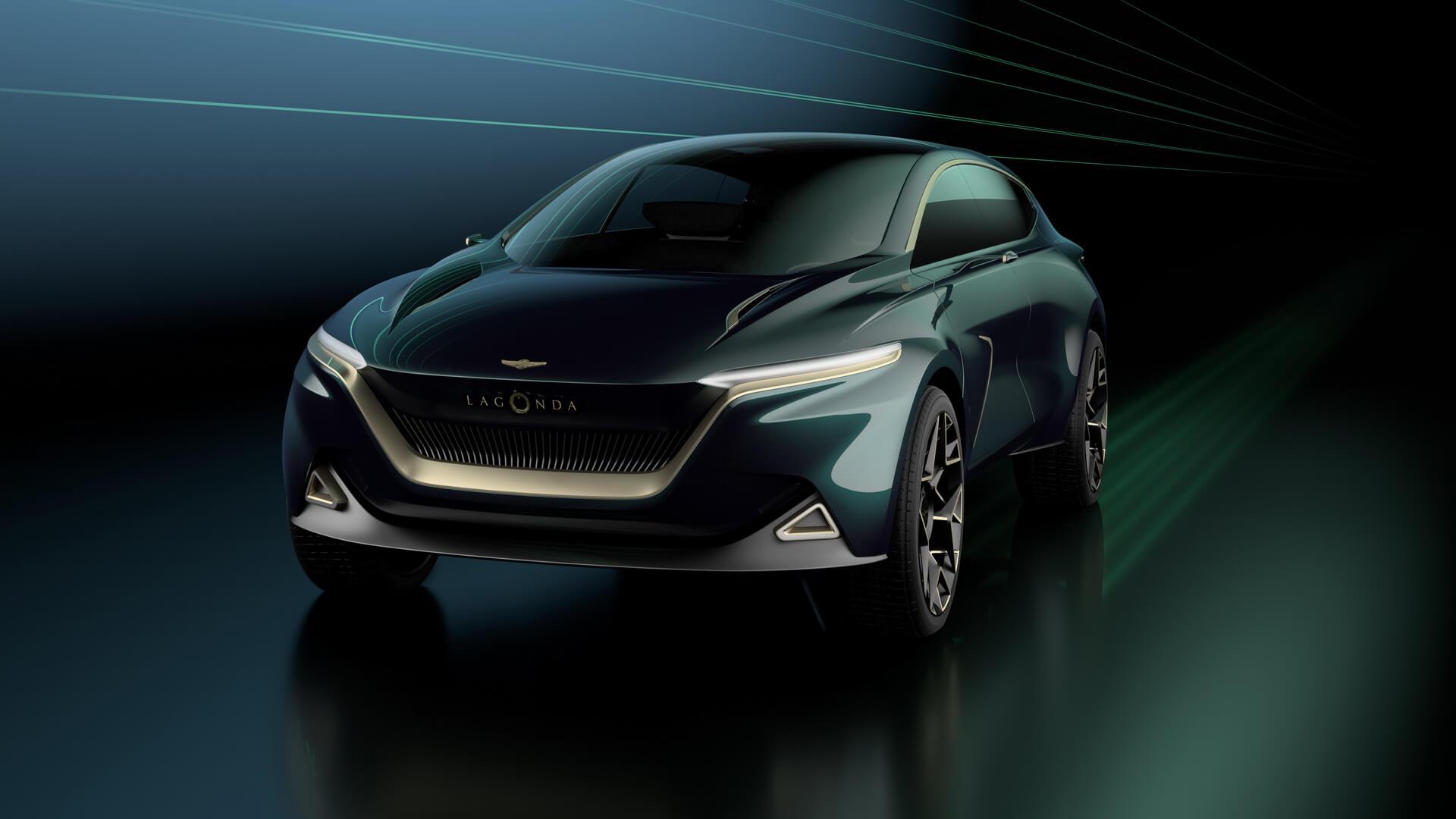 Lagonda All-Terrain: роскошное воплощение электромобильности от Aston Martin