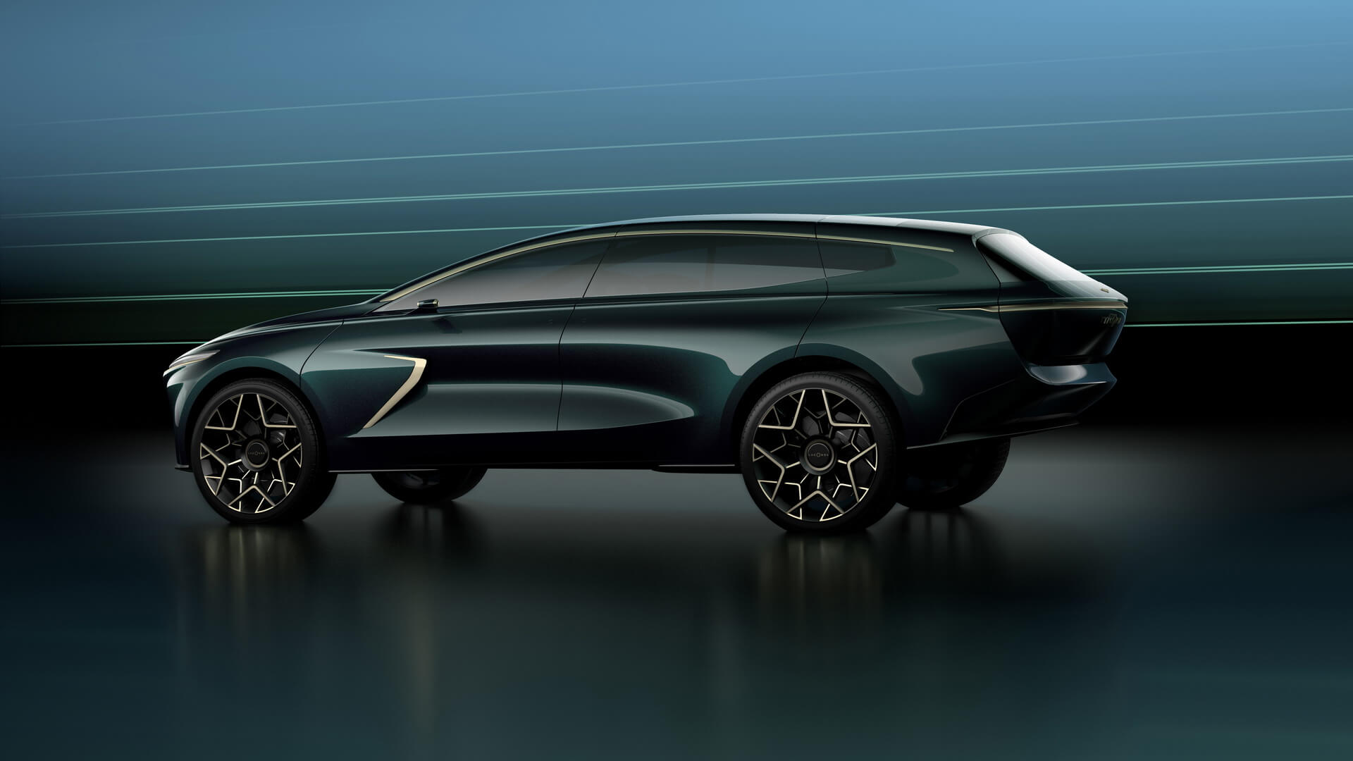 Концепт Lagonda All-Terrain нарочито роскошен иассоциируется скорее сяхтой нежели собычным автомобилем
