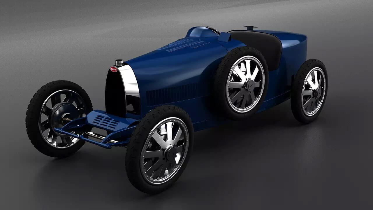 Bugatti представляет «детский» электромобиль за €33000