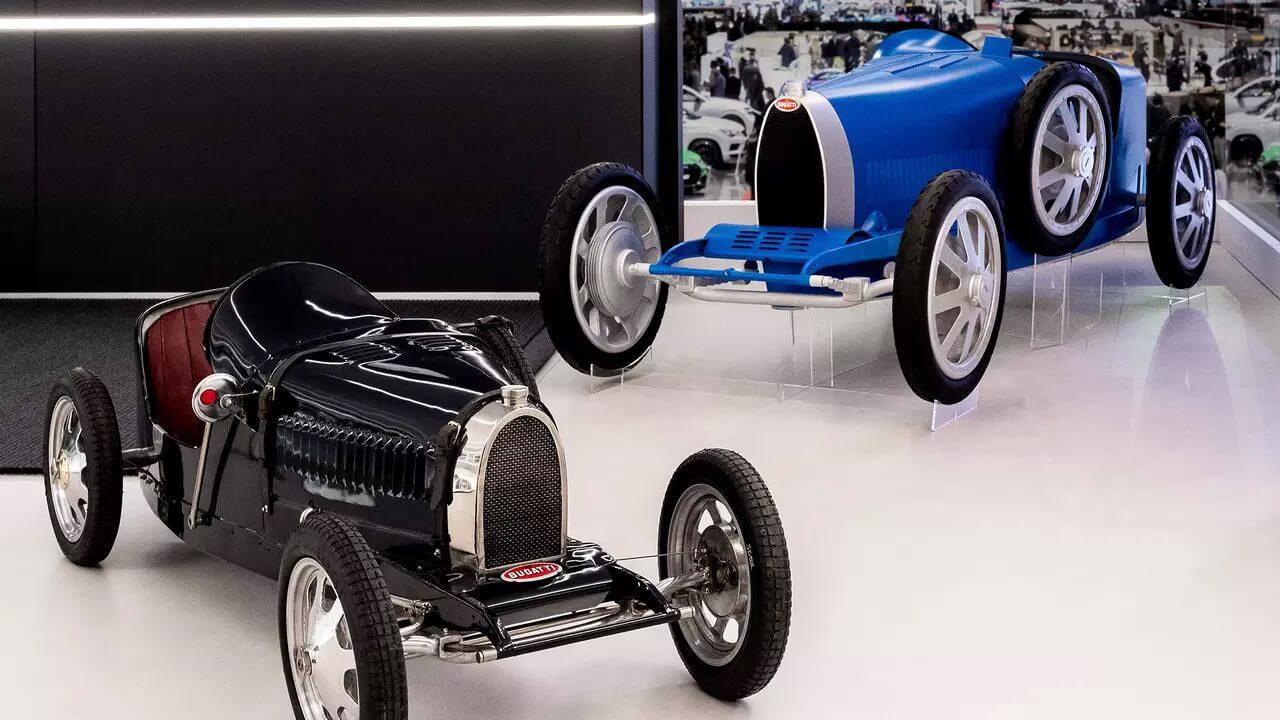 Bugatti Baby (Bugatti Type 35) и Bugatti Baby II