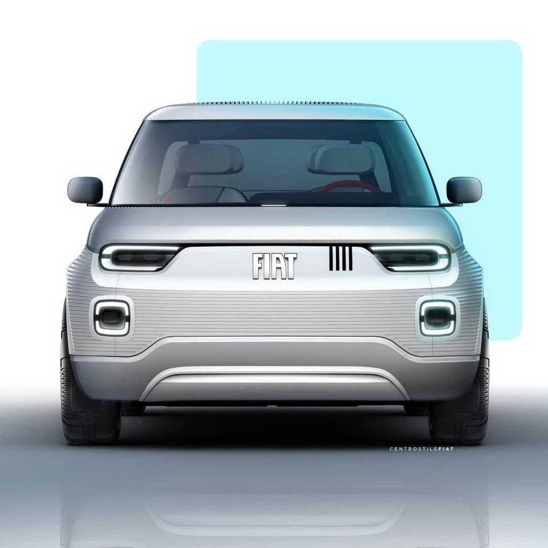 Fiat Concept Centoventi - вид спереди